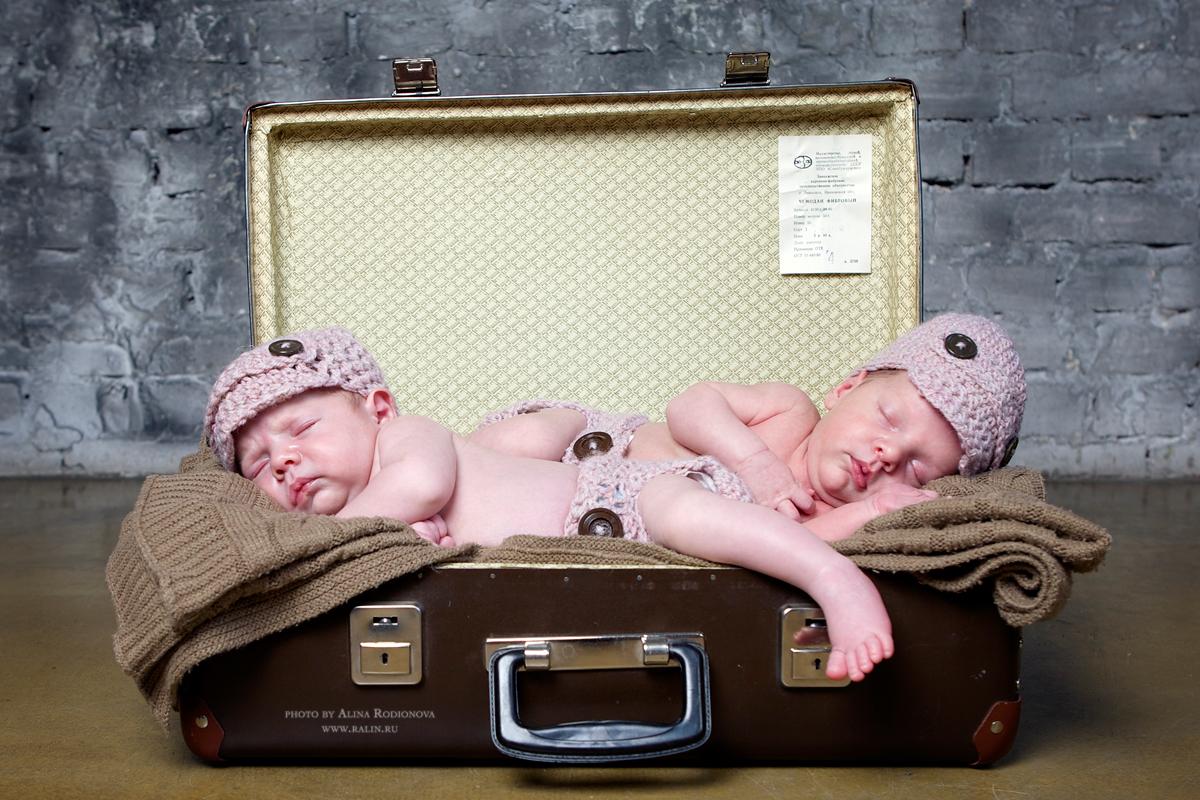 Фотограф новорожденных Алина Родионова
